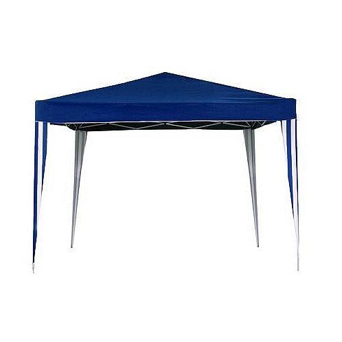 Gazebo Plegable Azul Blanco 3X3Mts