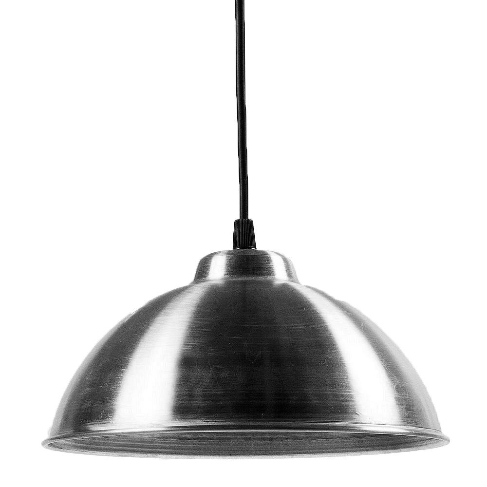 Lámpara Colgante Esférico E27 22Cm Aluminio