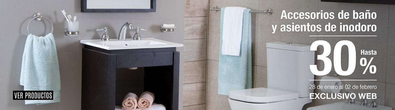 Acc baños y asientos de inodoro 30%