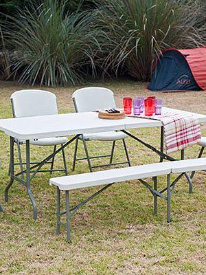 Muebles de camping