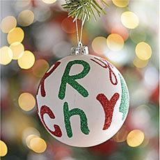 Esfera Merry Christmas