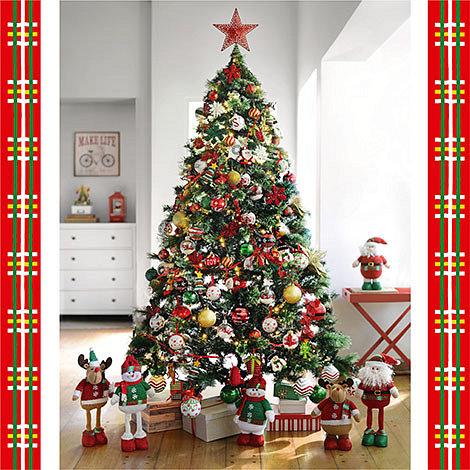 Arbol navidad estilo tradicional