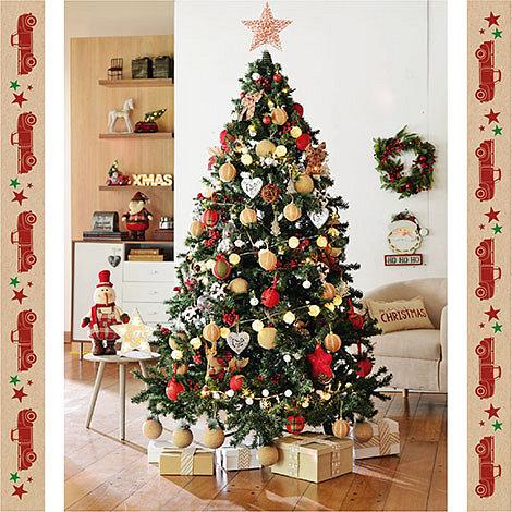 Arbol navidad estilo Folk