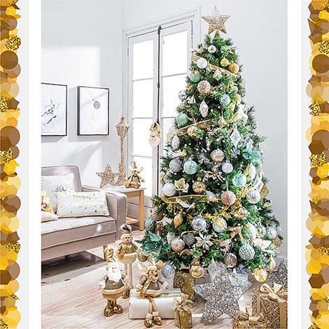 Arbol navidad estilo glam